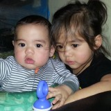 My son and daughter
