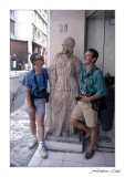 Intentaven lligar amb Palas Atenea. Atenes 1988.