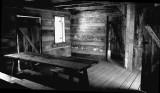 Inside Abner Hollow Cabin