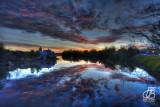 Seneca Falls, NY, Van Cleef Lake sunrise