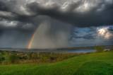 Passing Storm, Canandaigua Lake