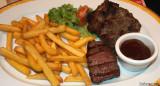 Huftsteak und Spareribs (Steak and Ribs)