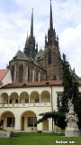 Courtyard of the Moravské zemské muzeum.