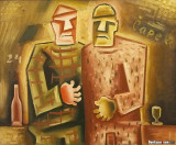 Moravian Gallery, Two Friends 1924, Josep Capek, 1887-1945