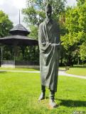 Statue of Vladimir Nazor, Zelengaj, Zagreb, Croatia
