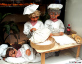 Automated Puppets in Bakery Window