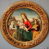 Raffaellino Del Garbo. Krug (San Lorenzo a Vigiliano kraj Firence, 1466 -1476 - Firenca. 1524)