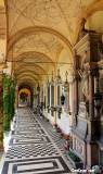 A few of the Arcades at The Mirogoj Cemetery