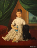Portrait of a Little Girl, 1852-1856, Vjekoslav Karas, 1821-1858