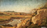Landscape from the Roman Campagna, 1874