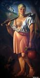Countrywoman, 1926, Vladimir Becic, 1886-1954