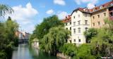 Old Town Ljubljana, Ljubljanica River