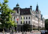 Palace, Now Part of the Ljubljana University
