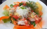 Spicy Salad with Prawns & Glass Noodles