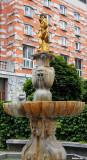 Golden Statue of god Neptune