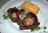 Rumpsteak with Black Truffles & Potato Confit