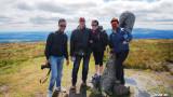 Atop Slievenamon Mountain