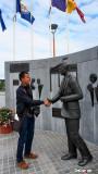 Cesar meets JFK