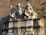 Above a Vatican Entrance