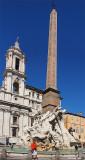 The Fontana dei Quattro Fiumi