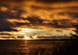 DSC06649 - Drama in a Sunset