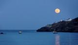 DSC09603 - Moonrise Over Fort Amherst