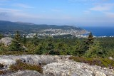 Pouch Cove from the berry hills