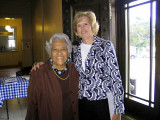 Coleen and New Orleans' Chef Leah Chase