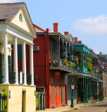 Colors of New Orleans' Vieux Carre'