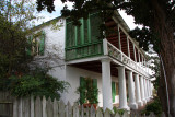 The Pitot House (built in 1799) in Louisiana's Colonial era)