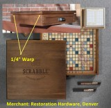 Restoration Hardware, Denver,  Deluxe Vintage PREMIER EDITION SCRABBLE®
