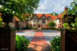 Main Courtyard Of Cranbrook House
