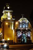 Iglesia de San Francisco at Night