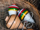 Mexican wooden toys Trompo