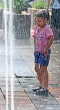 Bajo la lluvia !
