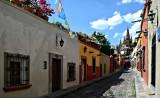 Calle en San Miguel Allende