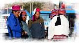 Hombres en Puno Perú