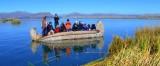 Turistas en Titicaca