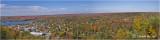 Town of Haliburton and surrounding