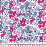My fabric: Liberty's Poppy and Honesty