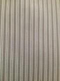 Fabric detail: a striped shirting