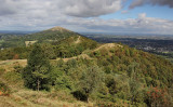 View of the Worcestershire Beacon.