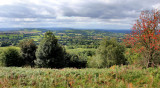 Looking West from the Malvern Hills.