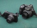 SH-1 and SP-570UZ