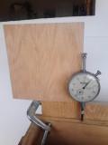 V-Drum Sander - 9 - Measuring Rail for Parallelness to Box Left Side