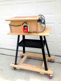 29 V-Drum Sander on Mobile Stand