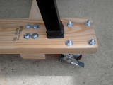 30 V-Drum Sander Dolly Detail