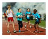 Amsterdam Flame Games athletics 2013