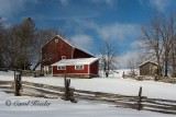 Red Barns and Fences