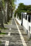 Sidewalk in Rosario